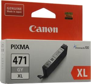 Canon Чернильница Canon CLI-471GY XL Gray для PIXMA MG5740/6840/7740