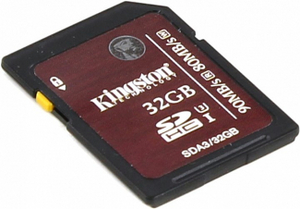 Карта памяти Kingston  SDA3/32GB  SDHC Memory Card 32Gb UHS-I U3