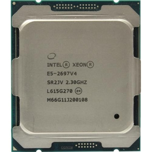 CPU Intel Xeon E5-2697 V4 2.3 GHz / 18core / 4.5+45Mb / 145W / 9.6GT / s LGA2011-3