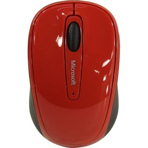Microsoft Wireless Mobile Mouse 3500 (RTL) USB 3btn+Roll GMF-00293 уменьшенная