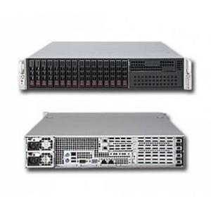 Supermicro 2U 6027R-WRF (LGA2011, C602, WIO, SVGA, SATA RAID, 8xHS SAS/SATA, 2xGbLAN, 16DDRIII 740W HS)