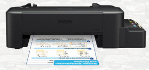 Epson L120 (A4, струйный, 8.5 стр/мин, 720 dpi, 4 краски, USB2.0)