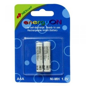 "Nexcell Аккумулятор Nexcell energyON AAA-800-2 (NiMH, 1.2V, 800mAh) Size ""AAA"" уп. 2шт"