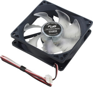 Zalman ZM-F2 FDB-SF Fan for m/tower (3пин, 92x92x25mm, 20-23дБ,1500об/мин)