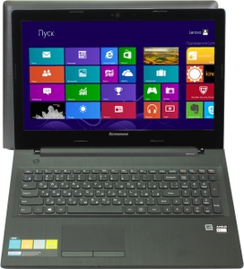 """Lenovo G50-4580E301BPRK E1 6010/2/250/DVD-RW/Win8/15.6""""/2.27 кг"""