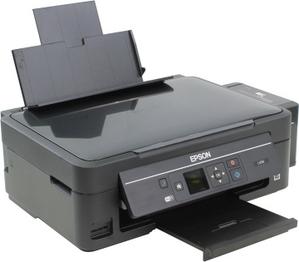Epson L456 (A4, струйное МФУ, 33 стр/мин, 5760 optimized dpi, 4 краски, USB2.0, WiFi)