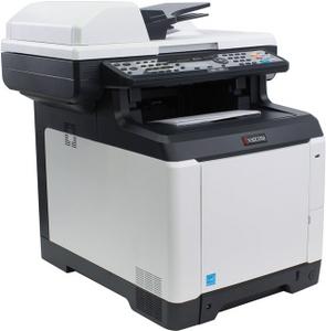 Kyocera Ecosys M6026cdn (A4, 1Gb, LCD, 26 стр/мин, цветное лазерное МФУ, USB2.0, сетевой, DADF, двуст.печать)