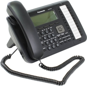 Panasonic KX-NT546RU-B Black системный IP телефон