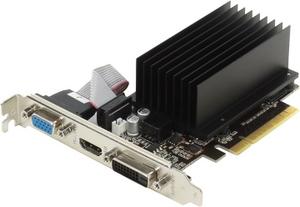 Palit 2Gb PCI-Ex8 DDR-3 Palit GeForce GT730 (RTL) 64bit D-Sub+DVI+HDMI