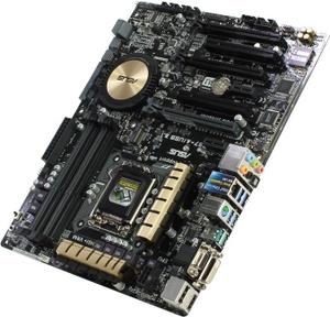 Asus Z97-A/USB 3.1 (RTL) LGA1150 Z97 3xPCI-E Dsub+DVI+HDMI+DP GbLAN SATA RAID ATX 4DDR-III