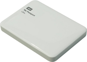 "Western Digital WD WDBDDE0010BWT-EEUE My Passport Ultra USB3.0 Drive 1Tb White 2.5"" EXT (RTL)"