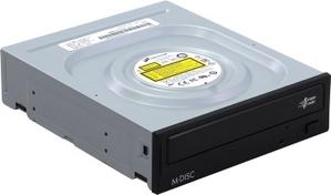 LG DVD RAM & DVD±R/RW & CDRW HLDS GH24NSD0 Black SATA (OEM)