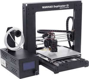 Wanhao i3 Black 3D принтер (200x200x180мм, LCD, microSD, USB2.0)