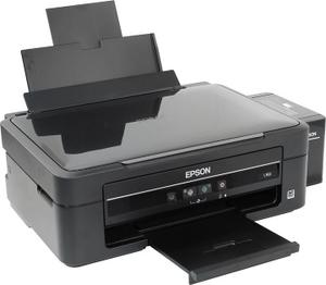 Epson L362 (A4, струйное МФУ, 33 стр/мин, 5760 optimized dpi, 4 краски, USB2.0)