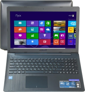 "Asus R515MA 90NB04X6-M27700 Cel N2840/2/500/WiFi/BT/Win8/15.6""/1.91 кг"