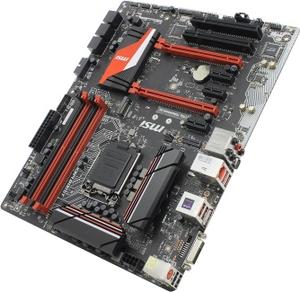 MSI Z170A TOMAHAWK AC (RTL) LGA1151 Z170 2xPCI-E DVI+HDMI GbLAN SATA RAID ATX 4DDR4