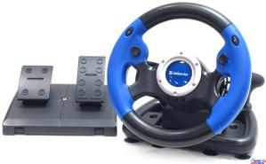 Defender Руль Defender Challenge Turbo (Руль, педали, 8поз.перекл., 10кн., 2 поз.рычаг КПП, USB) 64350