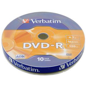 Verbatim DVD-R Disc Verbatim 4.7Gb 16x уп. 10 шт 43729