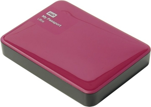 "Western Digital WD WDBNFV0020BBY-EEUE My Passport Ultra USB3.0 Drive 2Tb Red 2.5"" EXT (RTL)"