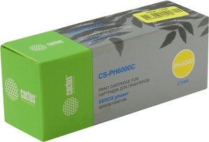 Cactus Картридж Cactus CS-PH6000C Cyan для Xerox Phaser 6000/6010