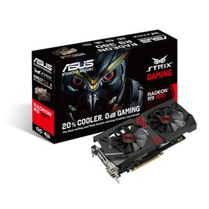 Asus 4Gb PCI-E DDR-5 ASUS STRIX-R9380-DC2OC-4GD5-GAMING (RTL) DualDVI+HDMI+DP RADEON R9 38