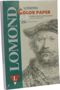 Lomond 1004212 (A4, 200 листов, 80 г/м2) бумага универсальная, сиреневая
