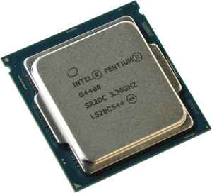 Intel Pentium G4400 3.3 GHz/2core/SVGA HD Graphics 510/0.5+3Mb/54W/8 GT/s LGA1151
