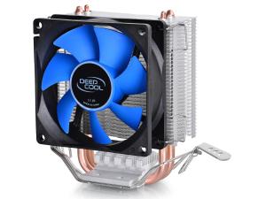 Deepcool DP-MCH2-IEMV2 ICE EDGE Mini FS V2.0 (3пин, 775/1155/AM2-FM2, 2200об/мин, 24.7 дБ, Al+теп.трубки)