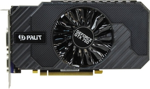 Palit 2Gb PCI-E DDR5 Palit GeForce GTX750 StormX OC (RTL) D-Sub+DVI+HDMI