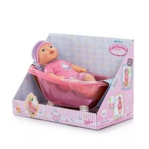 Zapf Creation my first Baby Annabell 700044 Кукла с ванночкой, 36см