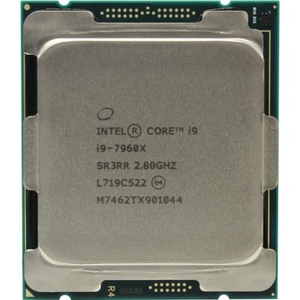 CPU Intel Core i9-7960X BOX (без кулера) 2.8 GHz / 16core / 16+22Mb / 165W / LGA2066