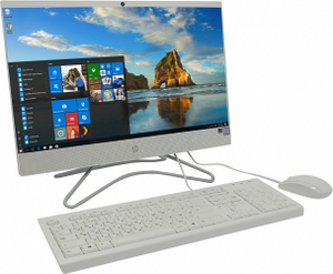 HP 200 G3 All-in-One 3VA58EA#ACB i5 8250U/8/1Tb+128SSD/DVD-RW/WiFi/BT/Win10Pro/21.5