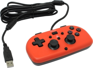 Геймпад HORI Wired Mini Gamepad Red PS4-101E