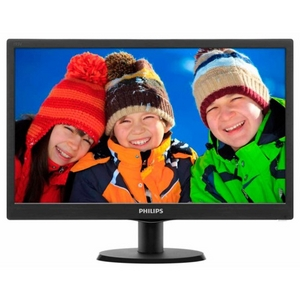 "18.5"" Монитор PHILIPS 193V5LSB2/10/62 (LCD, Wide, 1366x768, D-Sub)"