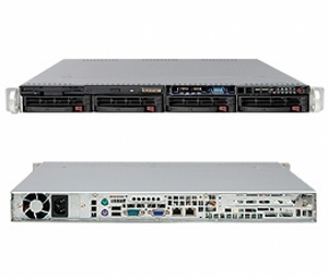 Supermicro 1U 1028R-WTRT (LGA2011-3, C612, WIO,SVGA, SATA RAID,10xHS SAS/SATA, 2x10GbL, 16DDR4, 750W HS)