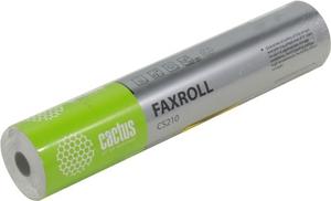 Cactus CS210 термобумага для факса (210мм, 30м, 55 г/м2)