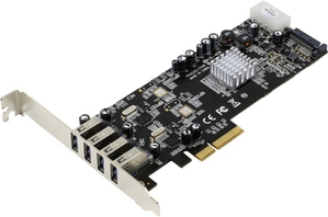 STLab U-1000 (RTL) PCI-Ex4, USB3.0, 4 port-ext