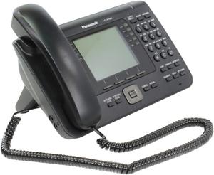 Panasonic KX-NT560RU-B Black системный IP телефон