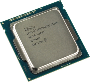 Intel Pentium G3260 3.3 GHz/2core/SVGA HD Graphics/0.5+3Mb/53W/5 GT/s LGA1150