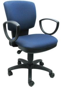 CH-626AXSN/V-03-1 Кресло (сине-черный ромбик, ткань V-03-1)