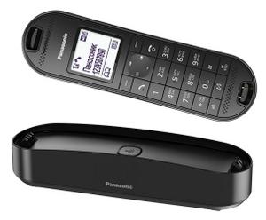 Panasonic KX-TGK320RUB Black р/телефон (трубка с ЖК диспл., DECT, А/Отв)