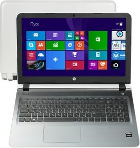"""Hewlett-Packard hp Pavilion 15-ab059ur N0J75EA#ACB A8 7410/4/500/DVD-RW/R7 M360/WiFi/BT/Win8/15.6""""/2.22 кг"""
