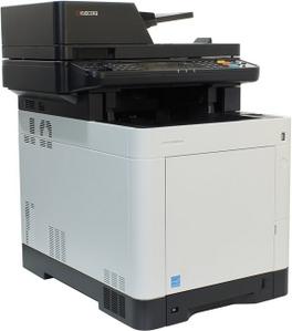 Kyocera Ecosys M6030CDN (A4, 1Gb, LCD, 30 стр/мин, цветное лазерное МФУ, USB2.0, сетевой, DADF, двуст.печать)