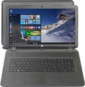 """Hewlett-Packard hp 17-p104ur P0T43EA#ACB A8-7050/4/1Тб/DVD-RW/WiFi/Win10/17.3""""/2.67 кг"""