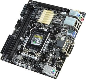 Asus H110I-PLUS (RTL) LGA1151 H110 PCI-E Dsub+DVI+HDMI GbLAN SATA Mini-ITX 2DDR4