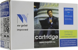 NV-Print аналог Q5951A Cyan HP Color LJ 4700 серии
