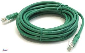 Patch Cord UTP кат.5е 5м, зеленый