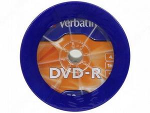 Verbatim DVD-R Disc Verbatim 4.7Gb 16x уп. 50 шт 43731