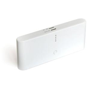 Универсальный Аккумулятор KS-is Power Bank KS-190 White (2xUSB, 30000mAh, 9 переходников, Li-lon)
