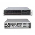 Supermicro 2U 6028R-WTRT (LGA2011, C602, WIO, SVGA, SATA RAID, 8xHS SAS/SATA, 2x10GbLAN, 16DDR4 740W HS)